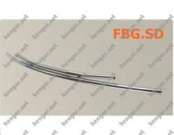 Защитная дуга по бамперу Suzuki Grand Vitara двойной ус