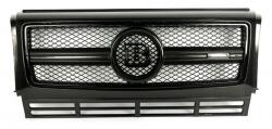 Карбоновая решетка в стиле Brabus на Mercedes Benz G Class W463 B900 G55 G63 G65