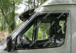 Дефлекторы окон (ветровики) Mercedes Sprinter (2006-...), на скотче