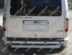 Хром Накладка над номером на крышку багажника Ford Connect (нерж.)