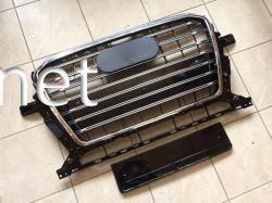 Решетка радиатора Audi Q5 стиль SQ5 Chrome (2012-2015)