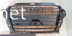 Решетка радиатора Audi A3 стиль S3 2012-2015 all black
