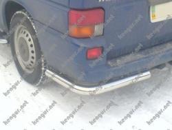 Защита задняя VW T4 угловая одинарная