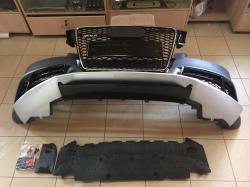 Передний бампер Audi A5 стиль RS5 2008-2011  8T0807065FGRU
