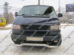 Защитная дуга по бамперу Volkswagen T4 изогнутый ус