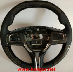 Руль карбоновый Maserati Quattroporte, Ghibli, Levante,
