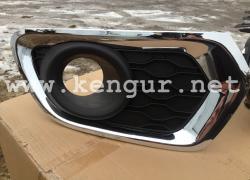 Крышка противотуманной фары Renault Logan 2 (2013-...) (комплект)