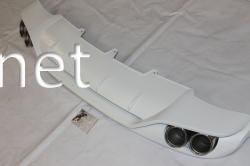 Диффузор заднего бампера Audi A4 стиль S4 2008-2011