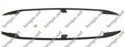 Рейлинги черные (пластиковые концевики)  Citroen Berlingo