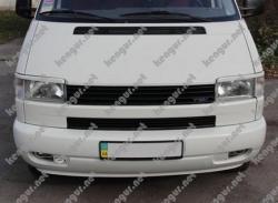реснички (накладки на фары) VW T4 (прямая фара)