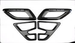 Карбоновые воздуховоды на капот для Range Rover Sport SVR