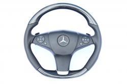 Руль карбоновый Mercedes Benz AMG дорестайлинг W207 E Class Coupe
