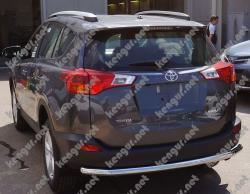 Защитная дуга заднего бампера Toyota RAV 4