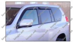 Дефлекторы окон, ветровики Toyota Land Cruiser Prado 150
