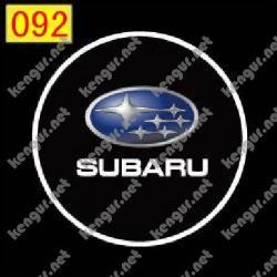 Лазерная подсветка дверей с логотипом Subaru (№092)