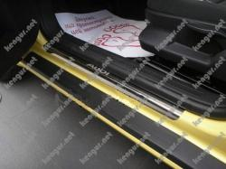 накладки на пороги из нержавеющей стали FIAT DOBLO II CARGO MAXI