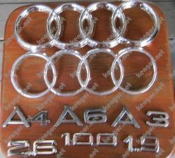 Значки эмблемы на Audi