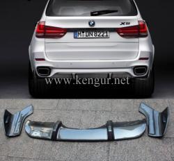 Карбоновый диффузор заднего бампера BMW X5 F15 M-Performance