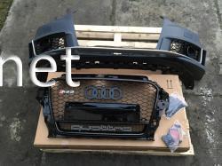 Передний бампер Audi A3 стиль RS3 2012-2015 седан