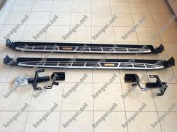 Пороги боковые Toyota Rav 4 (Cayenne style) PW00950001