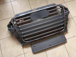 Решетка радиатора Audi A3 в стиле S3 серая
