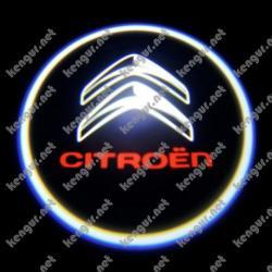 Лазерная подсветка дверей с логотипом на Citroen Berlingo