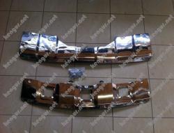 Накладки под передний и задний бампер на Mercedes-Benz GL-Class X164