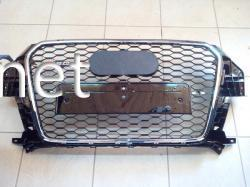 Решетка радиатора Audi Q3 стиль RSQ3 Chrome 2011-2015