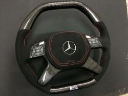 Руль карбоновый Brabus Алькантара Mercedes Benz ML-CLass W166