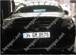 Защитная дуга по бамперу Volkswagen Tiguan одинарная