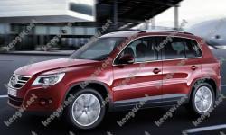 Хром окантовка вокруг боковых окон Volkswagen Tiguan