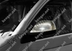 Накладки на зеркала Volkswagen T6 (пласт.) 2 шт. #856610