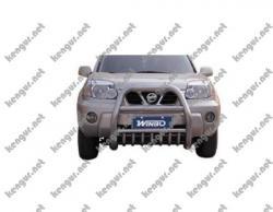 Защитная дуга Nissan X-Trail переднего бампера