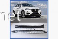 Пороги боковые BMW X6 F16 2014-2018
