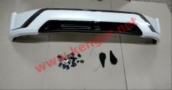 Накладка переднего бампера Middle East Toyota Land Cruiser 200