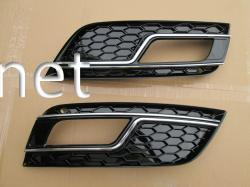 Решетки противотуманок Audi A4 стиль RS4 2012-2015