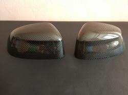 Карбоновые накладки на зеркала BMW X5 F15