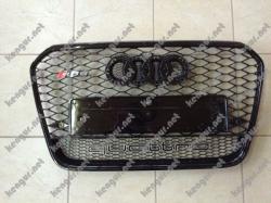 Решетка радиатора Audi A6 стиль RS6 Black 2012-2014  4F0853651ALYNP