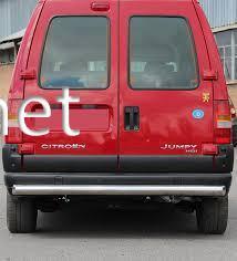Защита заднего бампера - труба прямая Citroen Jumper 1994-2006