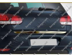 Хром накладка нижней кромки крышки багажника Volkswagen Golf VI (нерж.)