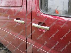 Хром Накладки на дверные ручки Volkswagen LT (к-т 4шт)