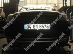 Защитная дуга по бамперу Volkswagen Tiguan двойная