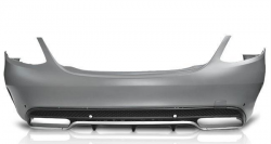 Задний бампер Mercedes W205 в стиле AMG C63