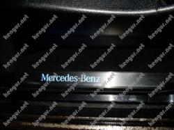 Накладки на пороги  с неоновой подсветкой Mercedes-Benz GL-Class X164