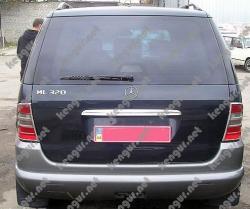 Хром Накладка над номером на крышку багажника (нерж.) #816881