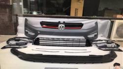 Бампер передний на Volkswagen Golf VII (2012-...) стиль R-Line