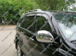 Дефлекторы дверей, ветровики Toyota Prado120