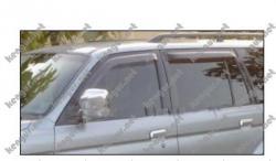 Дефлекторы дверей, ветровики Mitsubishi Pajero Sport #367110