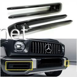 Докладка переднего бампера Mercedes AMG W464 W463A G63 G 2018 2019
