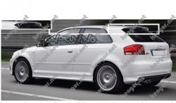 Спойлер Audi A3(B6) #321287